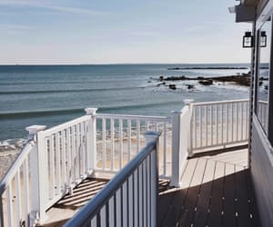 summer, beach, and house image