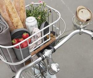 цитата, велосипед, and ягоды image