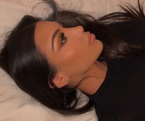 contour, lipstick, and eyeshdow image