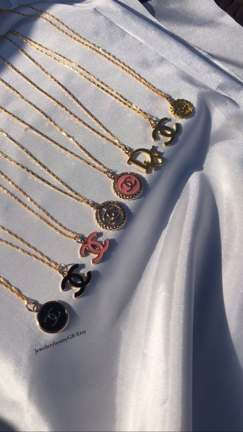 necklace, chanel, and designer image