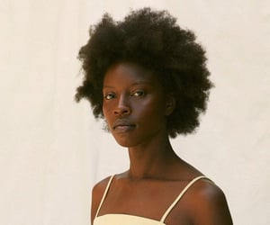 Afro, beautiful, and beauty image