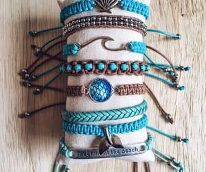 beach, bracelets, and pulseiras image