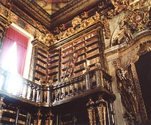 books, library, and baroque image