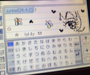 aesthetic and pictochat image
