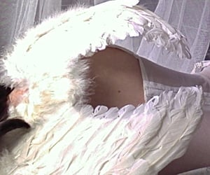 angel, aesthetic, and Angel Wings image
