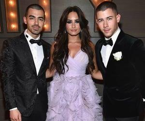 demi lovato, Joe Jonas, and jonas brothers image