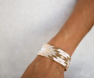 handmade bracelet, beaded bracelet, and zapotec bracelet image
