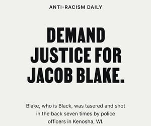 activism, justice, and police brutality image