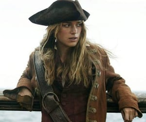 keira knightley, pirate, and pirates of the caribbean image