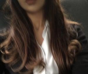 fashion, hair, and girl image