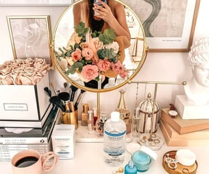 accessories, beauty, and coffee image