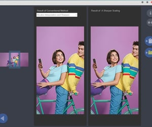 photo editor, blow up a picture, and blow up an image image