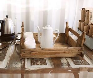 coffee, rustic, and tea image