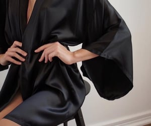 bathrobe, pajamas, and robe image