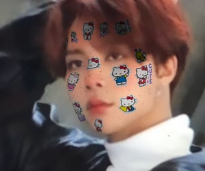 hello kitty, icons, and johnny image