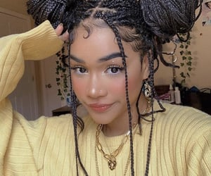 fashion, hair, and makeup image