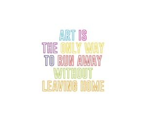 art, inspirational, and quote image