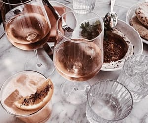 champagne, chill, and dinner image