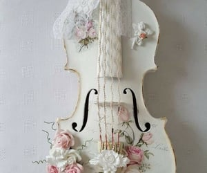 music, vintage, and violin image