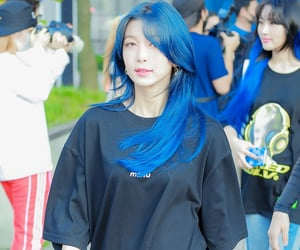 blue hair, dreamcatcher, and dami image