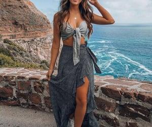 brazilian, brunette, and landscape image