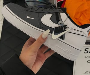 sneakers, nike, and air image