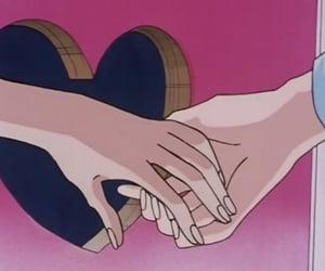 anime, lesbian, and sailor moon image