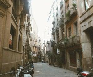 Barcelona, motorbikes, and travel image