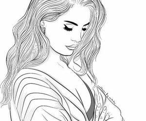 sketch and lana del ray image