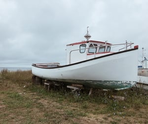 outerbanks, old boat, and boat image