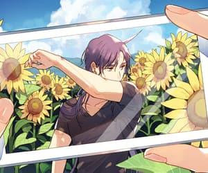 anime, nature, and anime boy image
