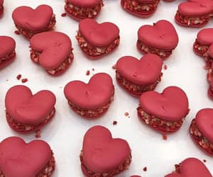 food, red, and hearts image