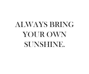 quotes and sunshine image