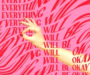optimism, pink, and positivity image