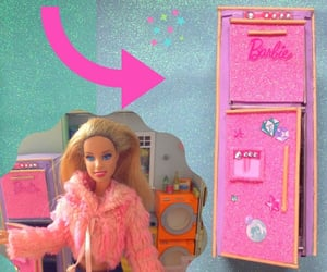 barbie, doll house, and Easy image