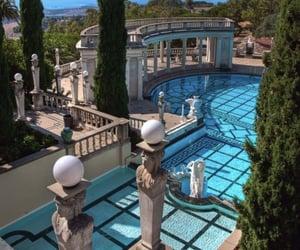 pool, luxury, and beautiful image