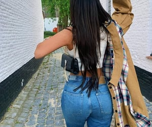 long hair hairstyle, goal goals life, and sac bag bags image