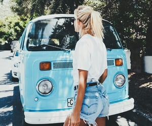 blonde, road, and travel image