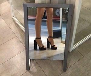 fashion, grunge, and mirror image