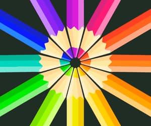 art, colorful, and gif image