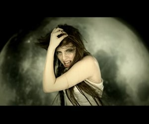 female singer, metal, and music image