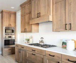 kitchen interior, house interior, and home interior image