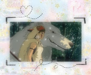 princess, princess mononoke, and studio ghibli image