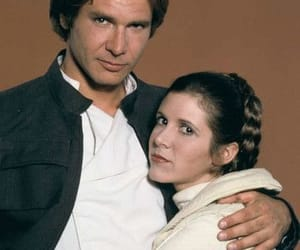 carrie fisher, harrison ford, and Princess Leia image