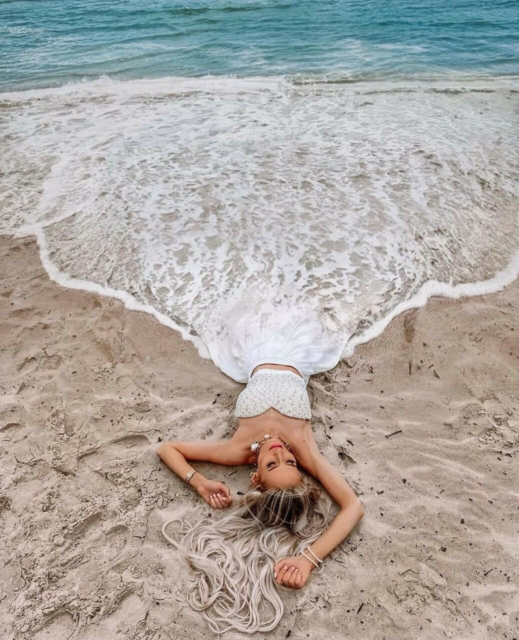 Image de beach, freedom, and girly