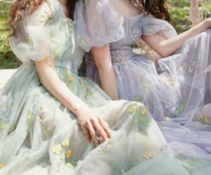 aesthetic, dress, and friends image