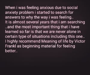 anxiety, by, and feeling image