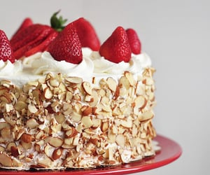 recipes, sweets, and strawberries image