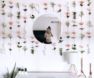 decor, plants, and work image
