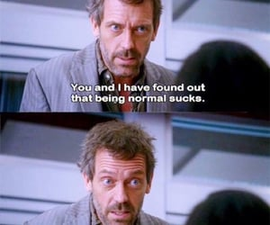 freak, house, and dr house image